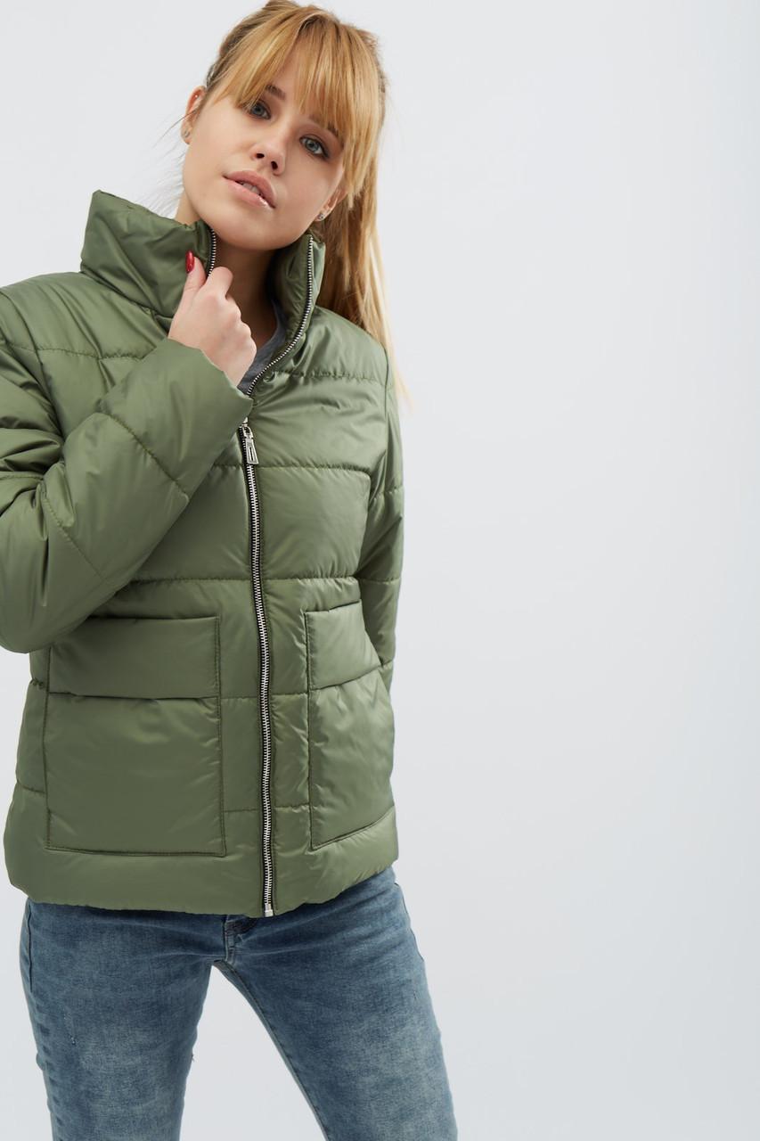 Куртка женская демисезонная -31069-1, (Хаки)
