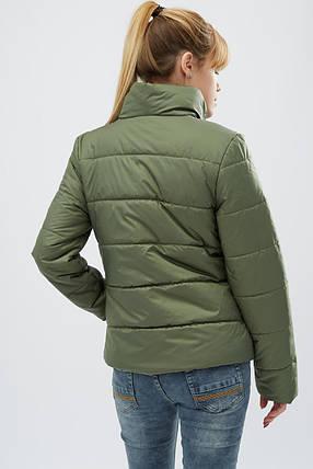 Куртка женская демисезонная -31069-1, (Хаки), фото 2