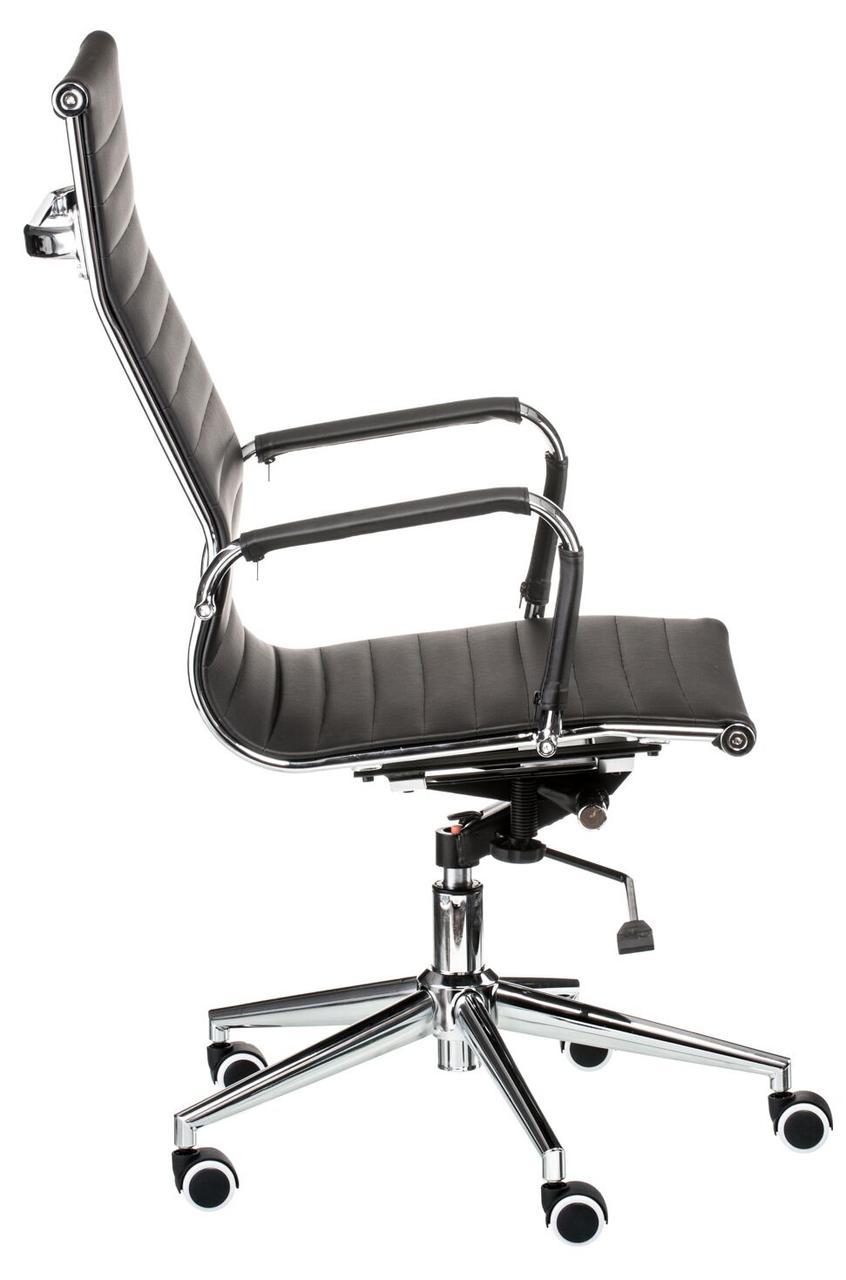 Кресло офисное Solano artlеathеr black Special4You, фото 3