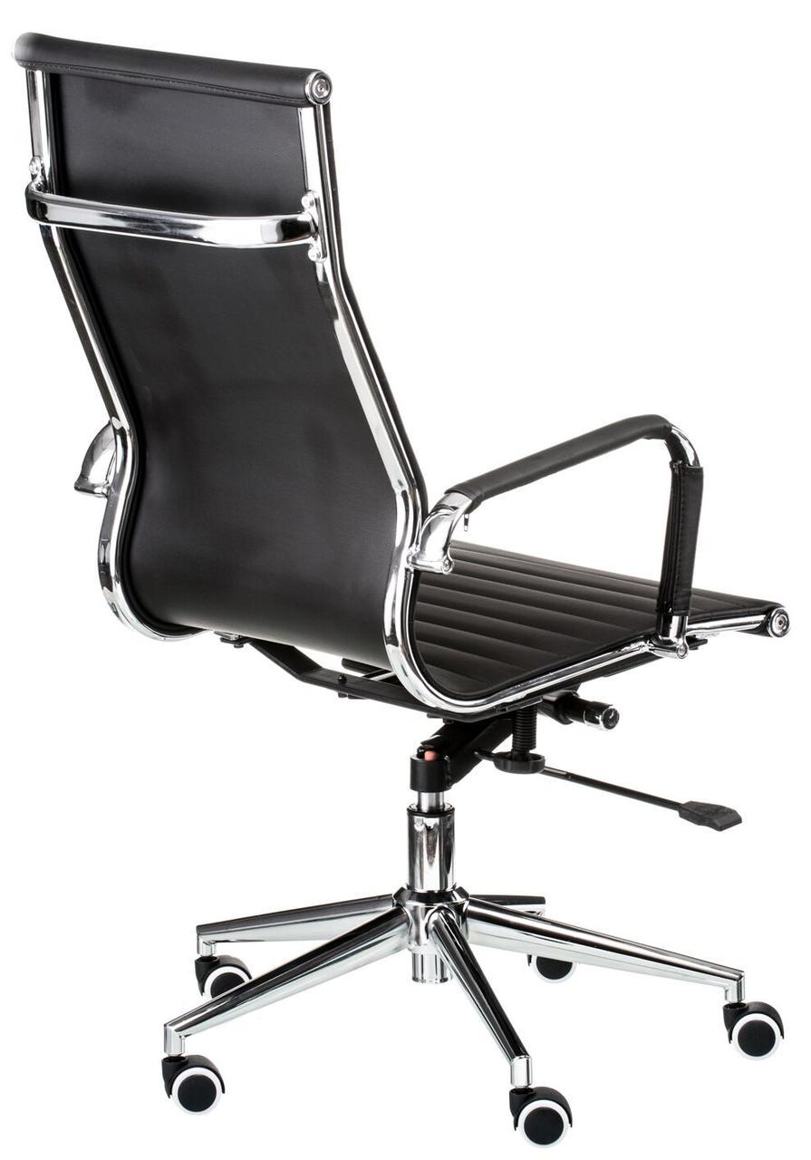 Кресло офисное Solano artlеathеr black Special4You, фото 4