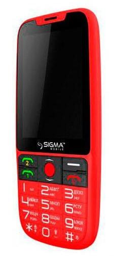 Телефон Sigma Comfort 50 Elegance 3 Гарантия 12 месяцев