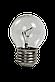 Лампа накаливания Шар  40 Вт Е 27 прозрачный, фото 2