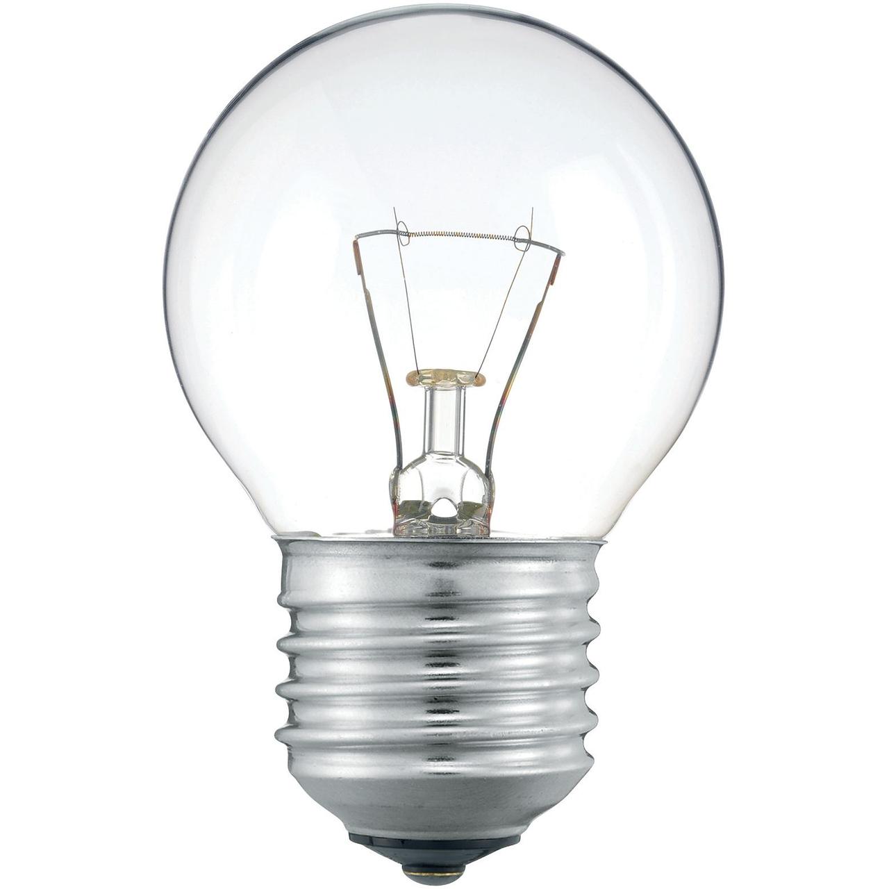 Лампа накаливания Шар  60 Вт Е 27 прозрачный