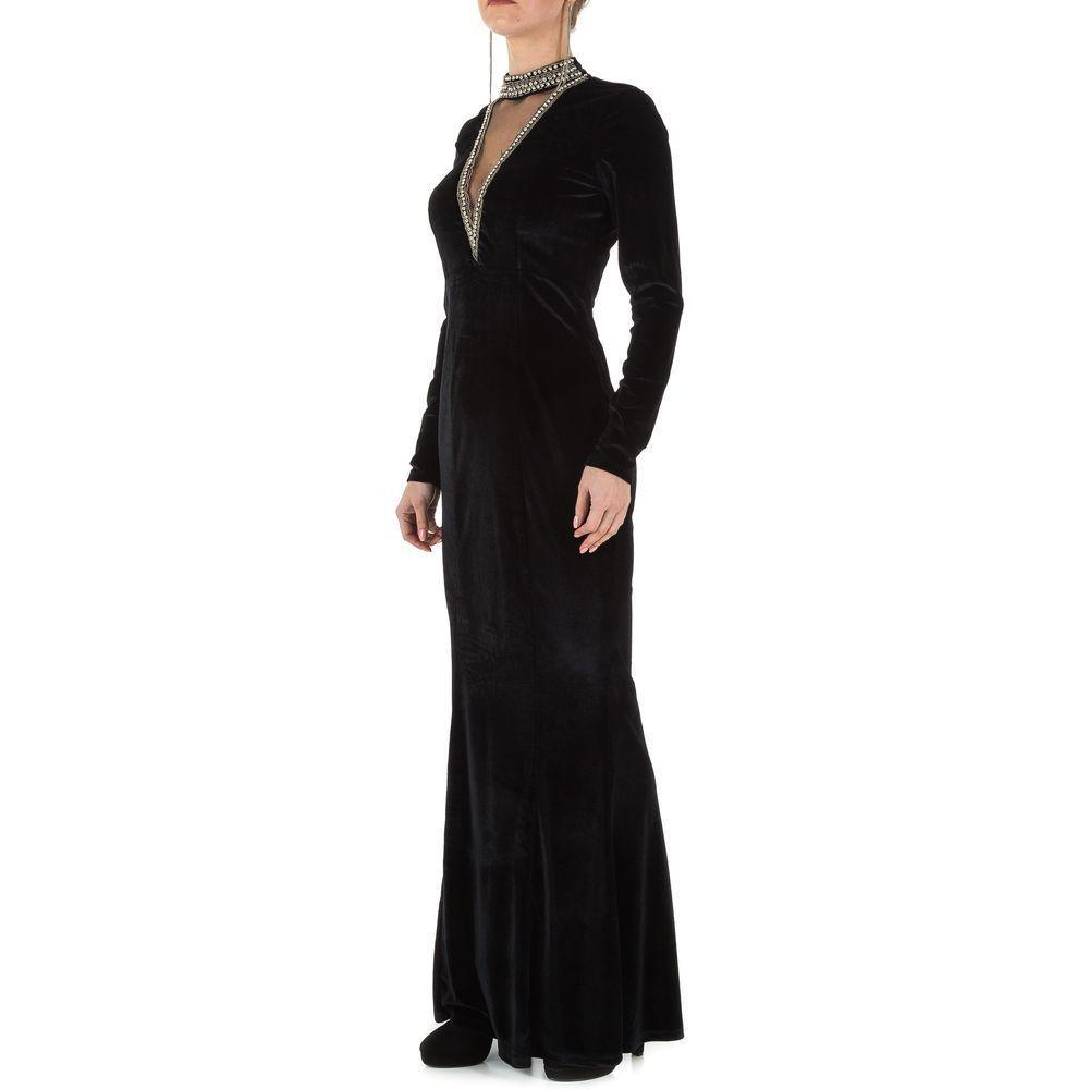 Женское платье от Emmash Paris, размер L/40 - черный - KL-МУ-1066-black L