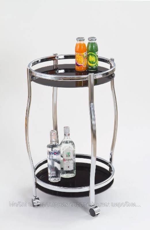 Барный стол BAR-8 (черный) (Halmar)