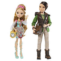 Набор кукол Ever After High Эвер Афтер Хай Эшлин Элла и Хантер базовые, Ashlynn Ella & Hunter Huntsman Doll.