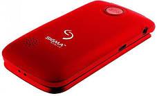 Телефон Sigma Comfort 50 Shell DUO Black-Red Гарантия 12 месяцев, фото 3