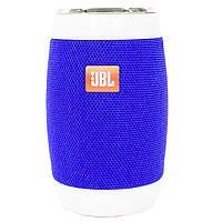 ➣Блютуз колонка BL JBL M128 Blue переносная беспроводная с LED подсветкой флешка батарея micro USB AUX вход