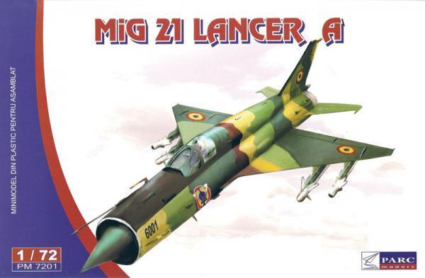 МИГ-21 LANCER A. 1/72 PARC MODELS 7201