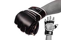 Перчатки MMA PowerPlay 3056 Black, фото 1