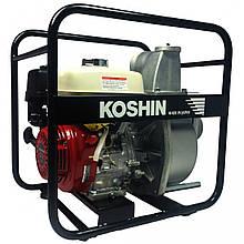 Мотопомпа для полугрязной води Koshin STH-100X-BAA