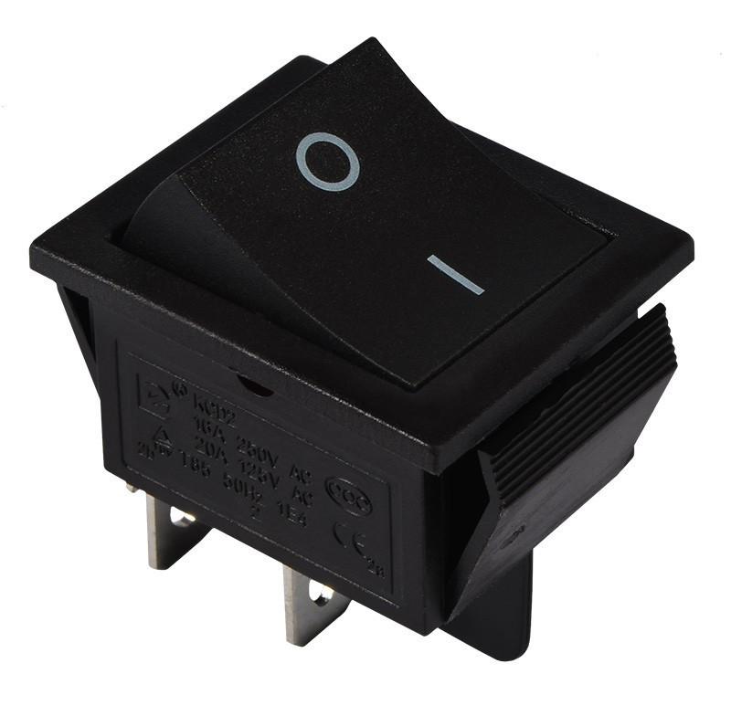 KCD2-201 B/B Переключатель 1 клавишный черный