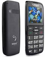 Телефон Sigma Comfort 50 Slim 2 Black Гарантия 12 месяцев