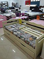 """Кровать подростковая """"Алина"""" цвет - слоновая кость"""