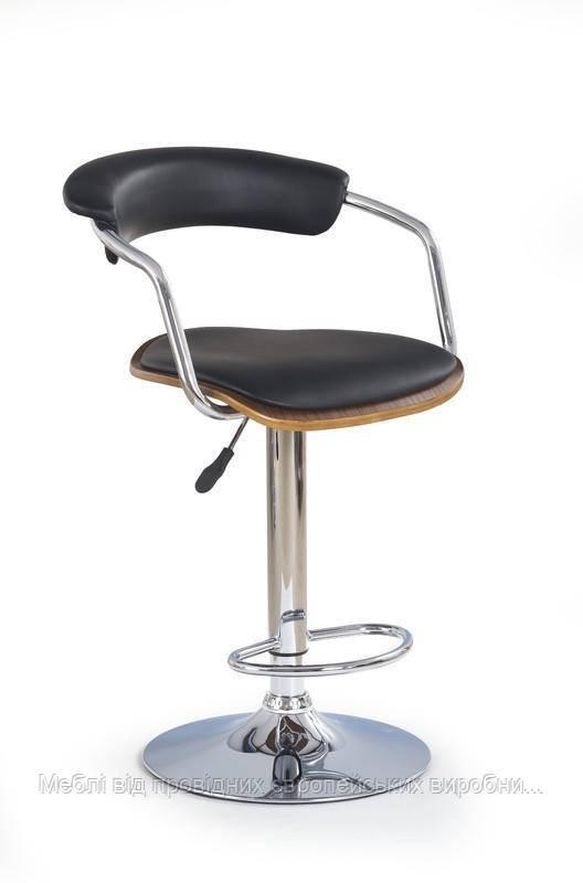 Барный стул H-19 (темный-орех) (Halmar)