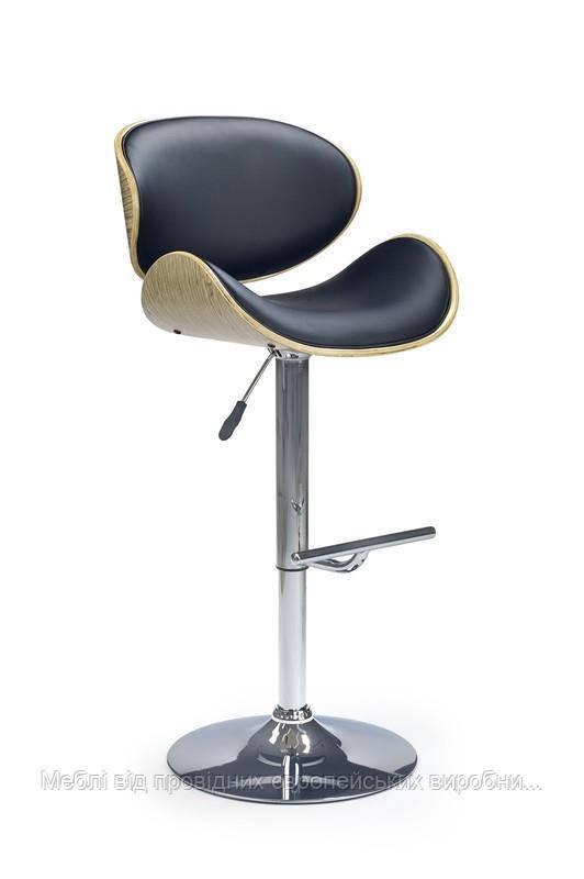 Барный стул H-44 (черный) (Halmar)