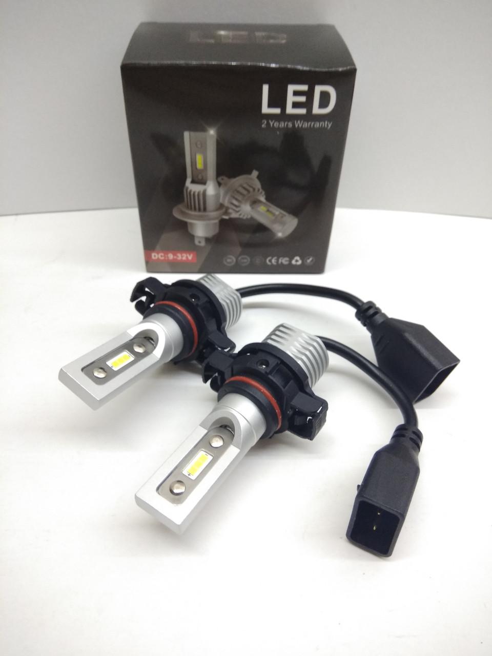 Автолампы LED V10P диод CSP Южная Корея PSX24 7200Лм 30Вт 12-24В