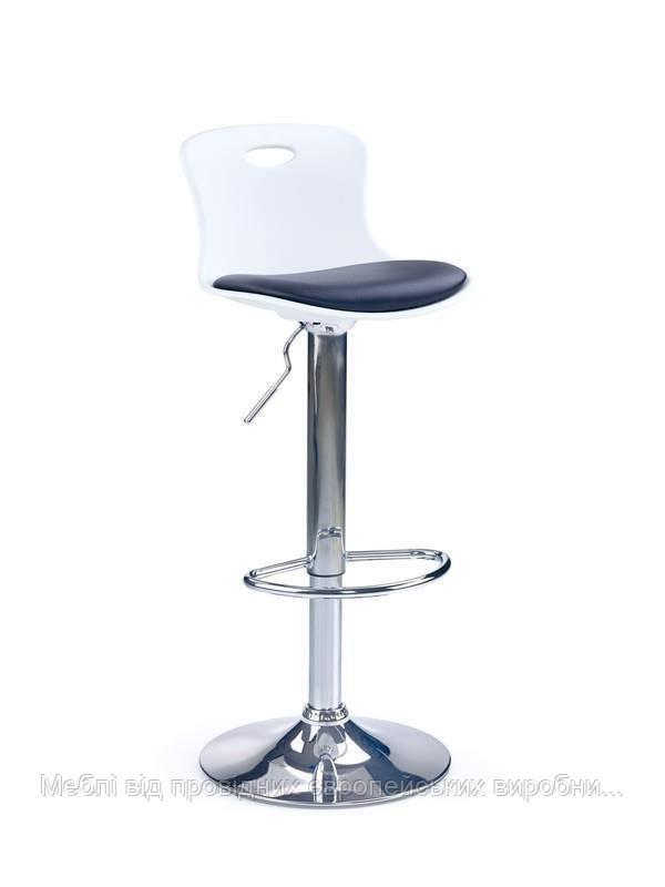 Барный стул H-49 (черно-белый) (Halmar)