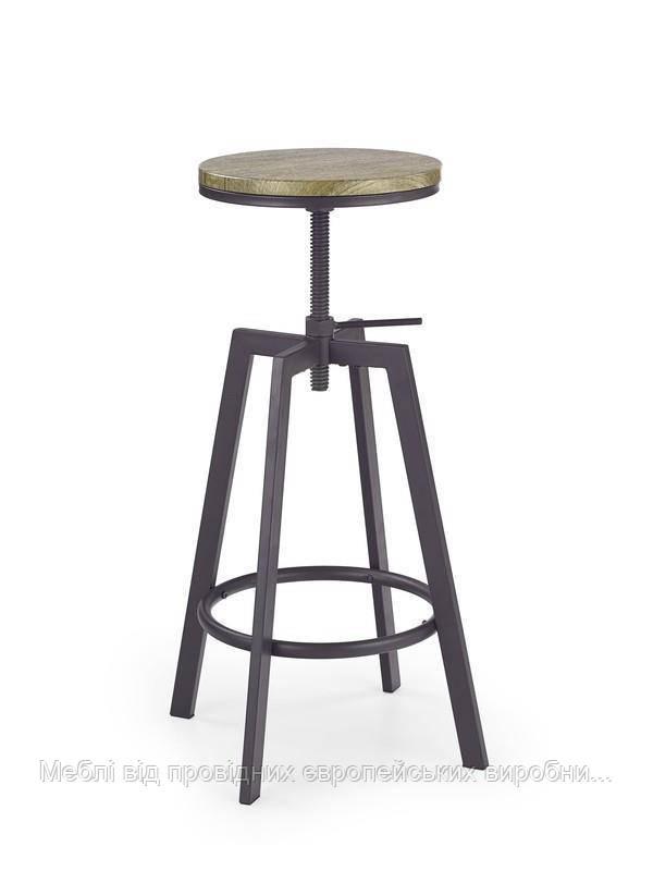 Барный стул H-64 (старый кофе) (Halmar)