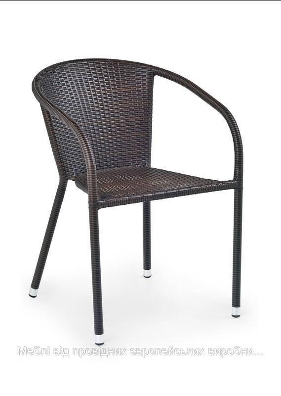Плетенный стул MIDAS (коричневый) (Halmar)