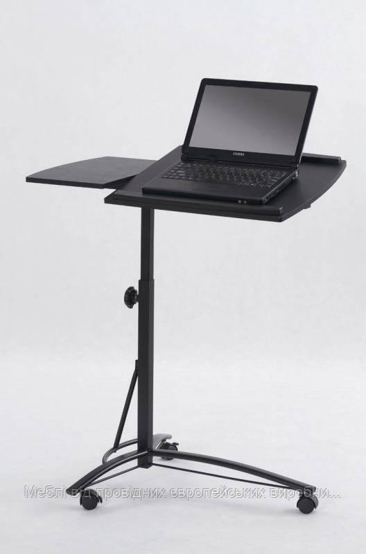 Компьютерный стол B-14 (черный) (Halmar)
