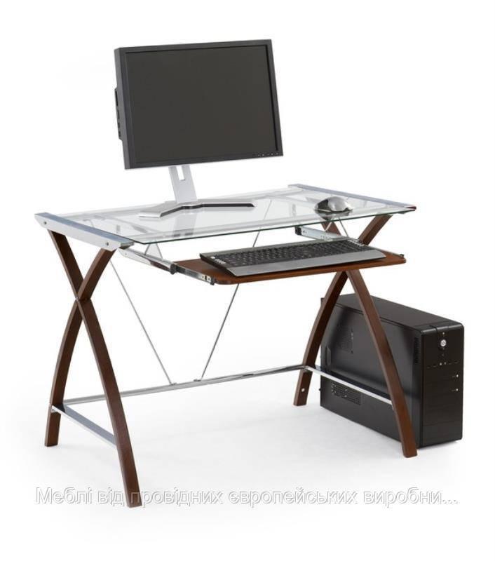 Компьютерный стол B-16 (венге) (Halmar)