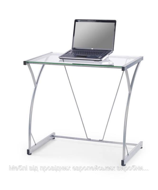 Компьютерный стол B-20 (прозрачный) (Halmar)
