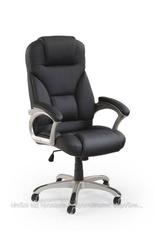 Компьютерное кресло DESMOND (черный) (Halmar)
