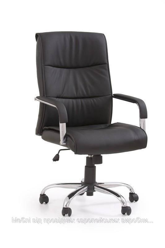 Компьютерное кресло HAMILTON (черный) (Halmar)