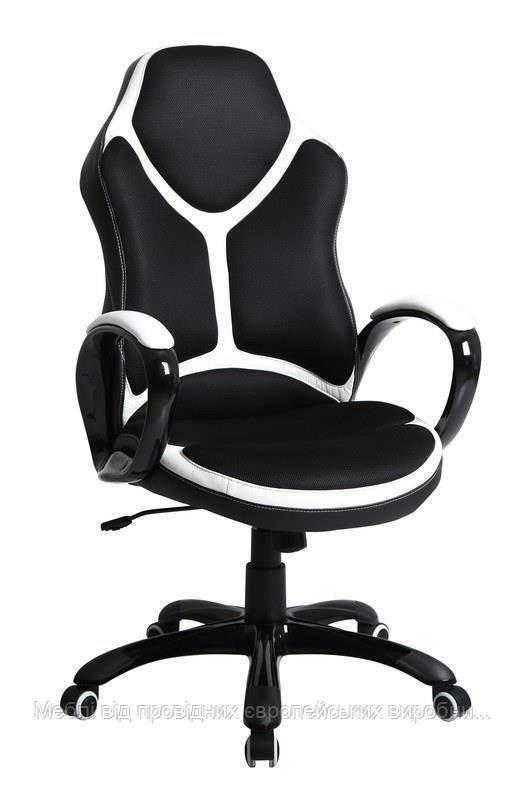 Компьютерное кресло HOLDEN (черно-белый) (Halmar)