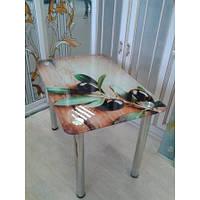 Стеклянный кухонный стол С119
