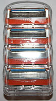 Gillette Fusion Power (джиллет фьюжн павер) 4 штуки без упаковки оригинал
