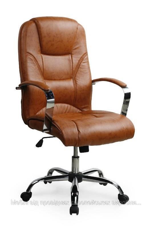 Компьютерное кресло NELSON (коричневый) (Halmar)