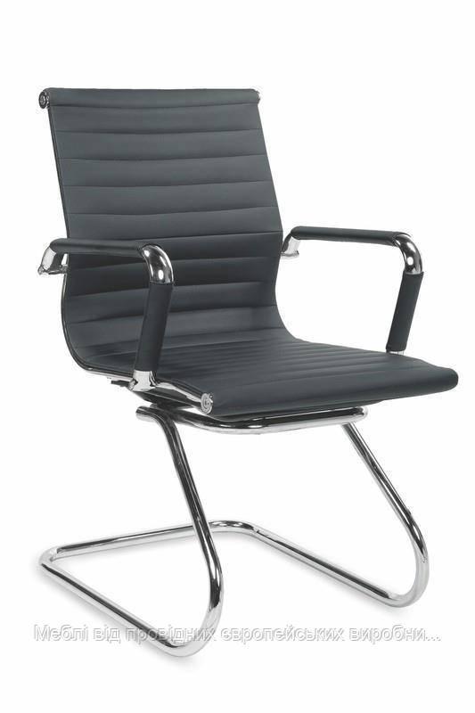 Компьютерное кресло PRESTIGE SKID (черный) (Halmar)