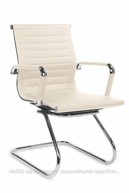 Компьютерное кресло PRESTIGE SKID (кремовый) (Halmar)