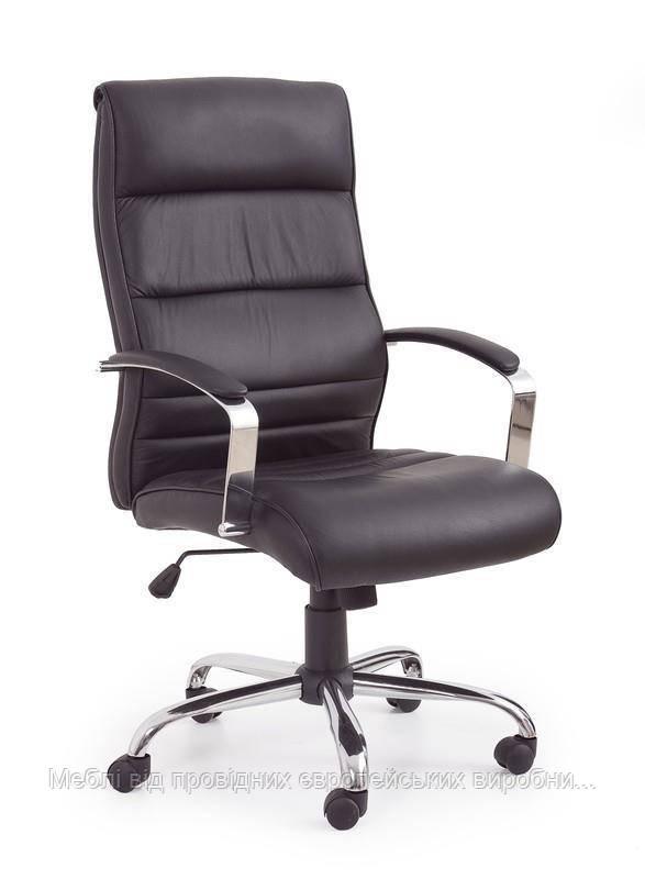 Компьютерное кресло TEKSAS (черный) (Halmar)