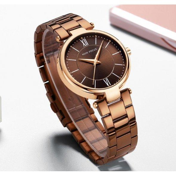 Женские часы Focus Platinum Brown