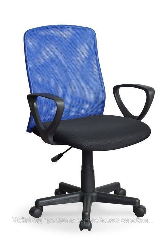 Компьютерное кресло ALEX (черно-синий) (Halmar)
