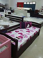 """Кровать подростковая """"Мила"""" цвет - Венге. Цена без ЯЩИКОВ!"""