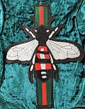 Кофта для девочек Бомбер Стрекоза Изумрудный, фото 5