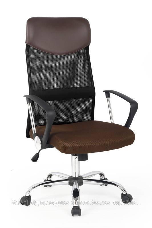 Компьютерное кресло VIRE (коричневый) (Halmar)