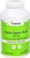 Альфа-липоевая кислота, Vitacost, Alpha Lipoic Acid, 300 мг, 120 капсул