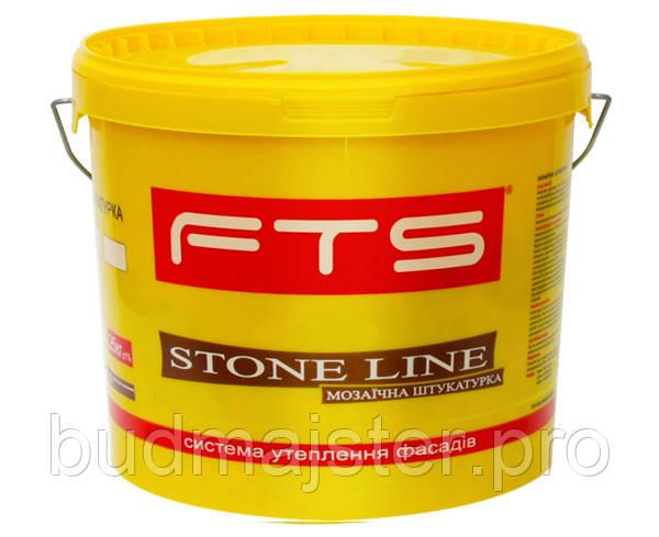 Штукатурка FTS STONE LINE Decor 1,5 мм мозаїчна, 25 кг