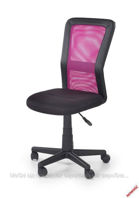 Компьютерное кресло COSMO (черно-розовый) (Halmar)