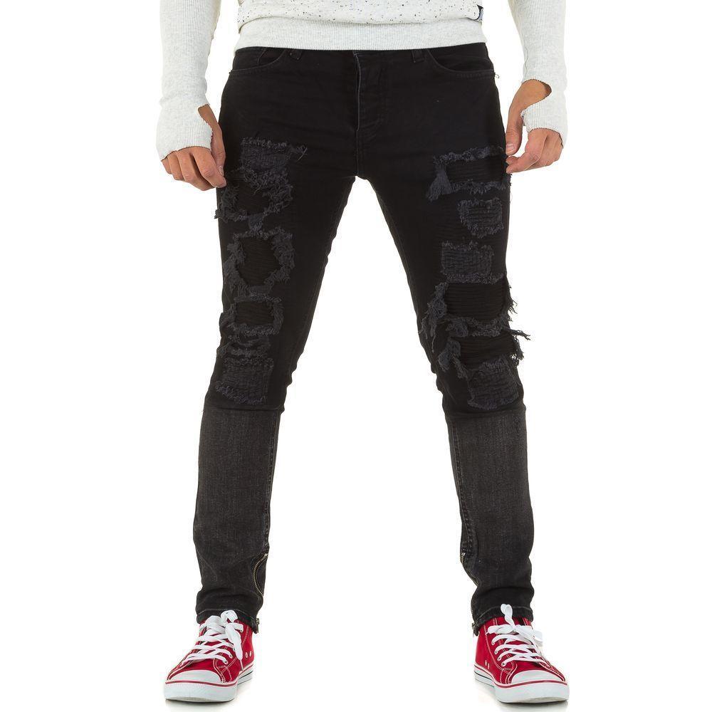 Мужские джинсы от Uniplay, размер 29 - black - KL-H-UP504-black 29