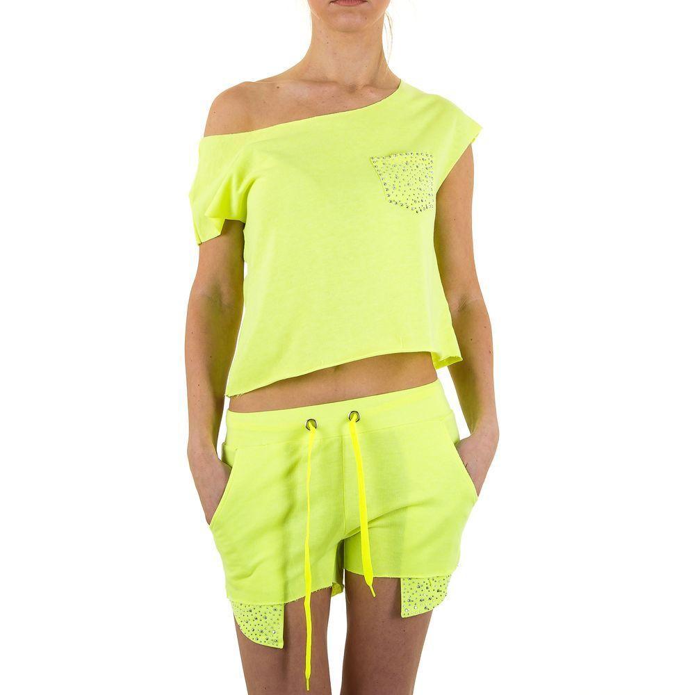 Женский костюм от Emma&Ashley Design - L. yellow - KL-WJ-5560-L. yellow