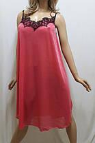 Женская ночная сорочка из гипюра, размер 56-60, фото 2