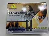 Радиосистема Behringer WM-501R с гарнитурой база + 2 радиомикрофона Беринжер, фото 5