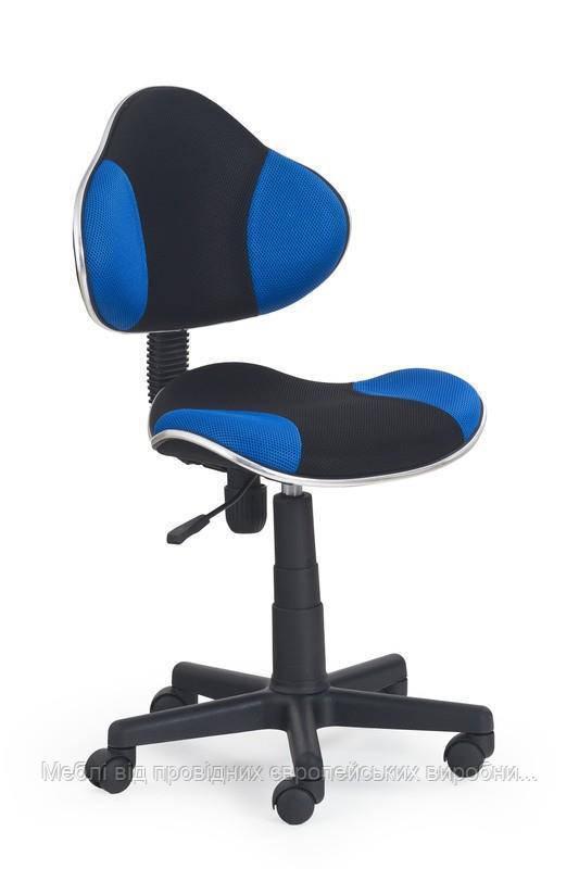 Компьютерное кресло FLASH (черно-синий) (Halmar)