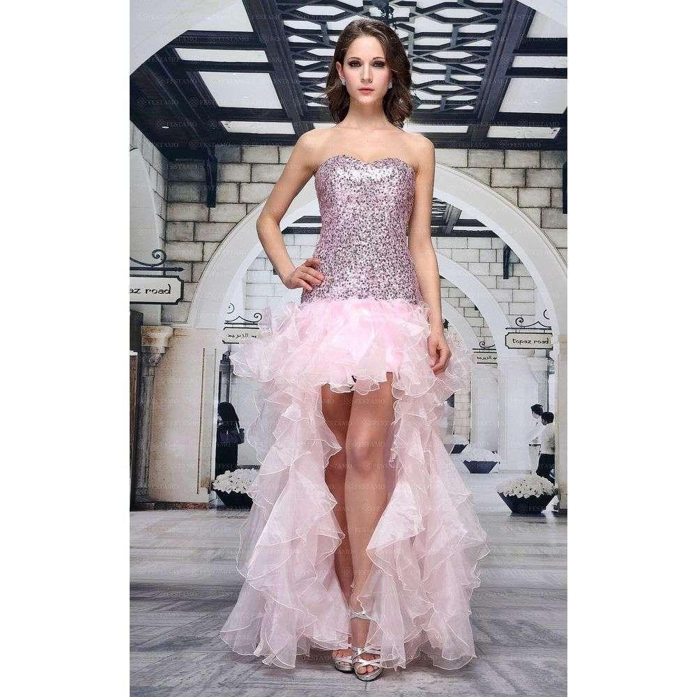 Женское платье от Festamo, размер 42 - Роза - Мкл-F7889-rose 42